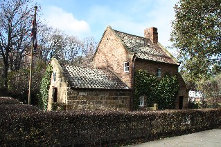 Captain Cook's Cottage Fitzroy Gardens Melbourne