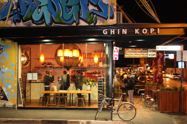 Ghin Kopi Thai Restaurant Chapel St Windsor