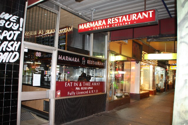 Marmara Turkish Restaurant Chapel St Windsor