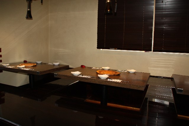 Melbourne Hwaro Korean BBQ Restaurant tradional seating