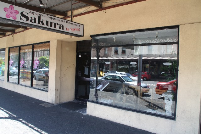 Sakura in Spring Japanese Teppanyaki Restaurant South Melbourne