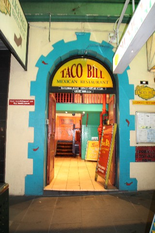 Taco Bill Mexican Restaurant Russell St Melbourne
