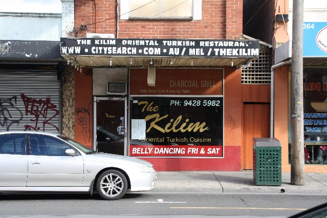 The Kilim Turkish Restaurant Melbourne