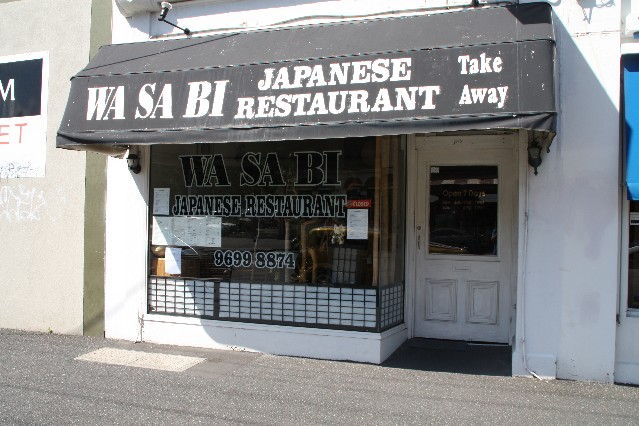 Wasabi Japanese Restaurant South Melbourne